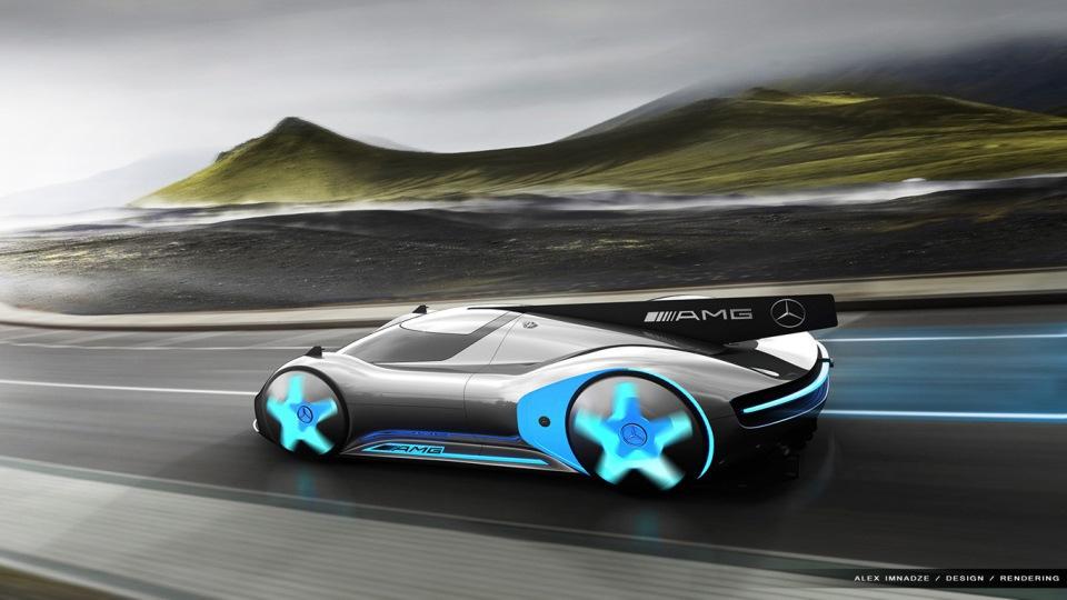 Но, пожалуй, самые интересные проекты компьютерных артистов — это автомобили «с нуля».