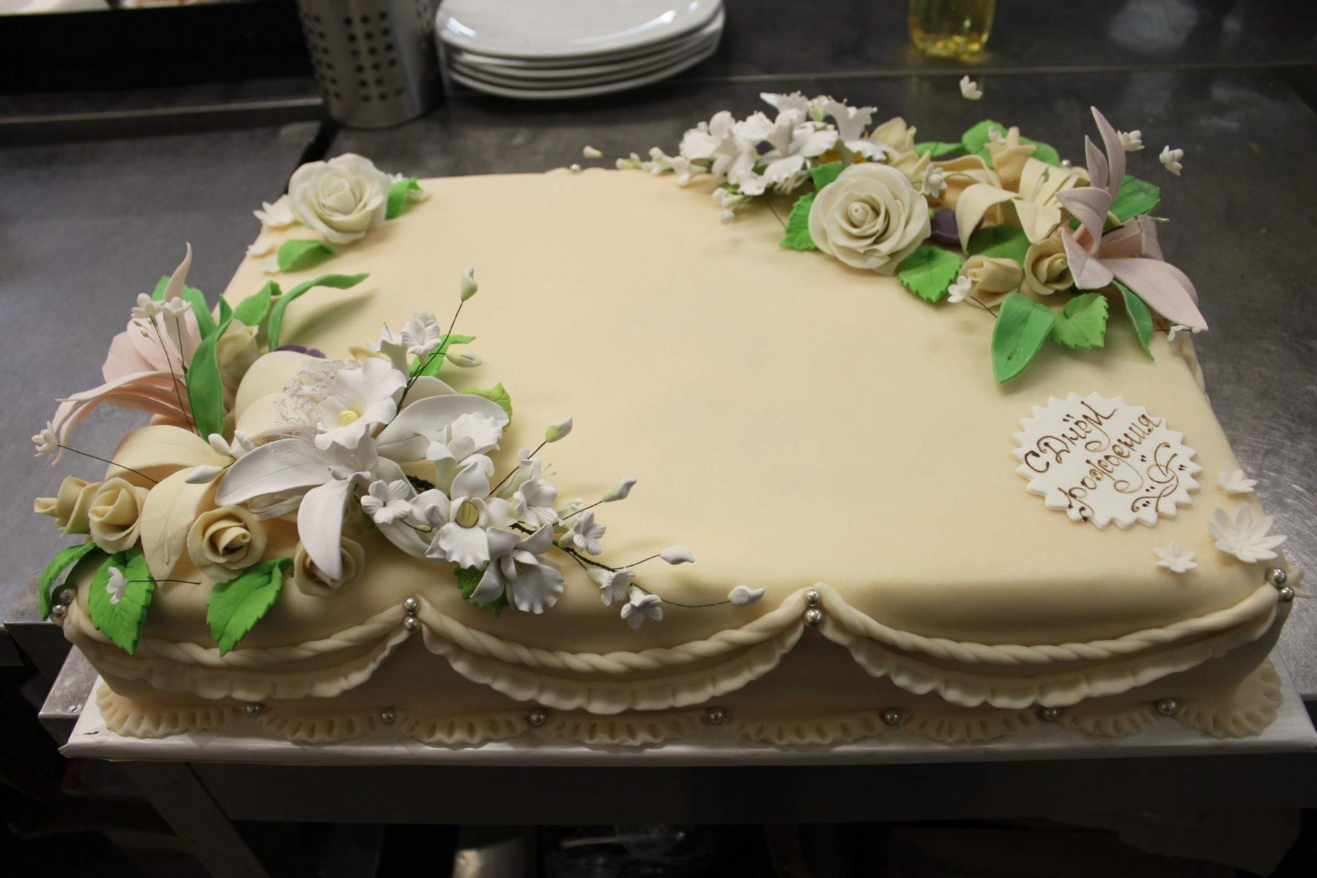 фото торт с юбилеем 50 лет