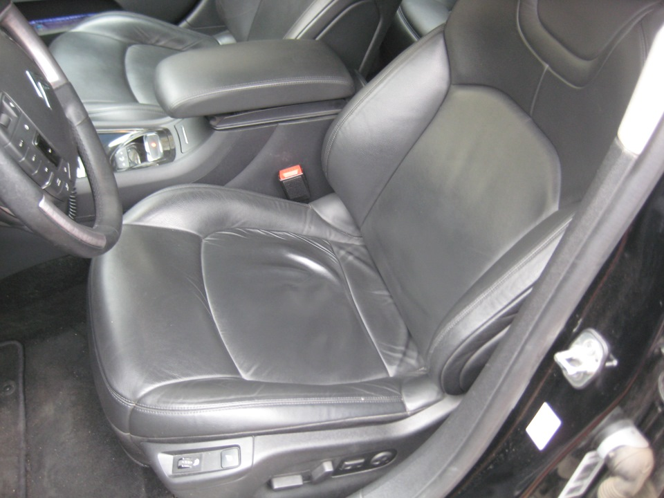 доработка водительского сидения ситроен
