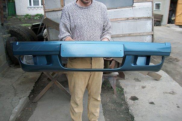 Ваз 2107 передний бампер своими руками