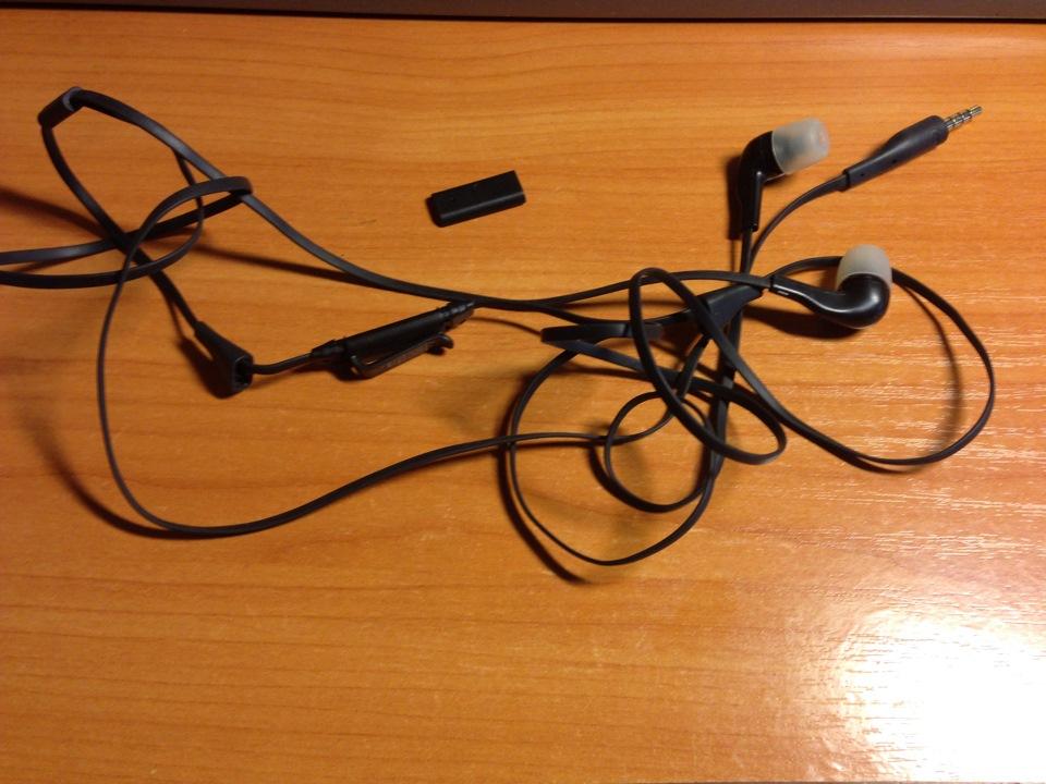 Aux кабель из наушников