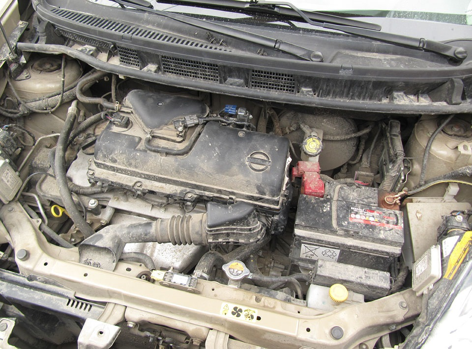 Самостоятельная мойка двигатель