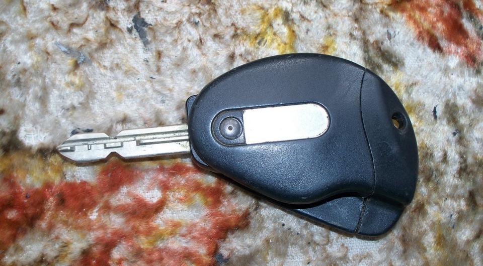 прописать ключ фиат центральный замок