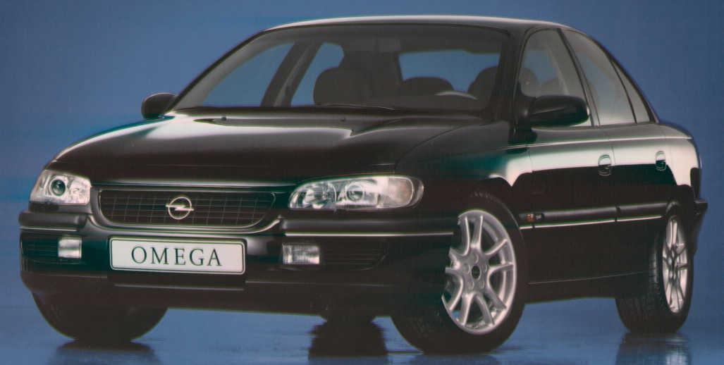 opel omega 1996 решетка
