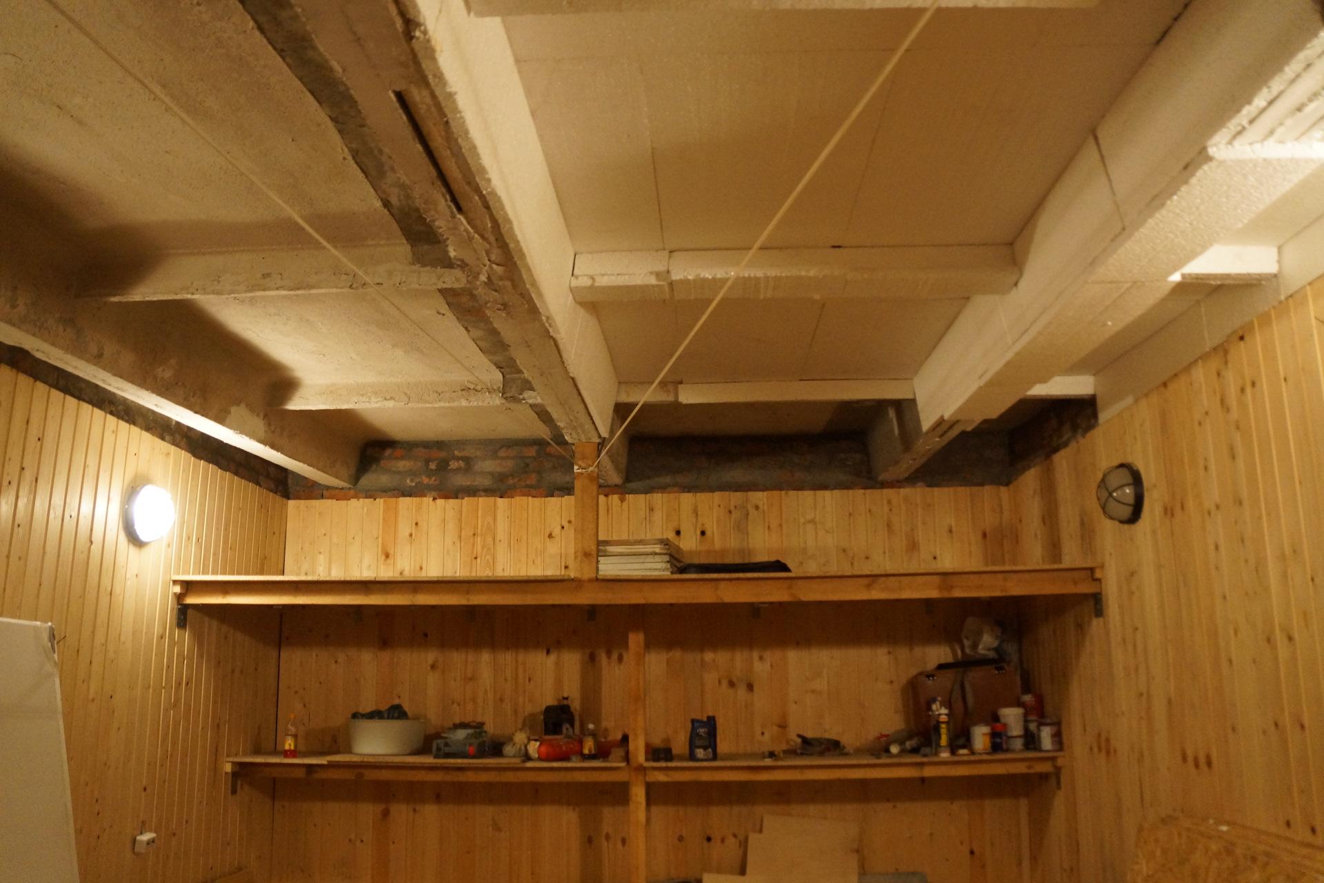 Как подшить потолок в гараже своими руками