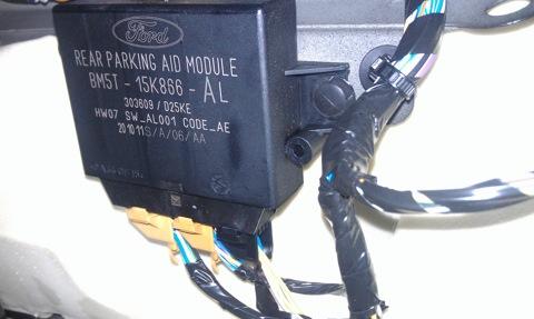 подскажите пожалуйста, вся ли у меня есть проводка для подключения переднего парктроника?  Ниже фото с тем что.