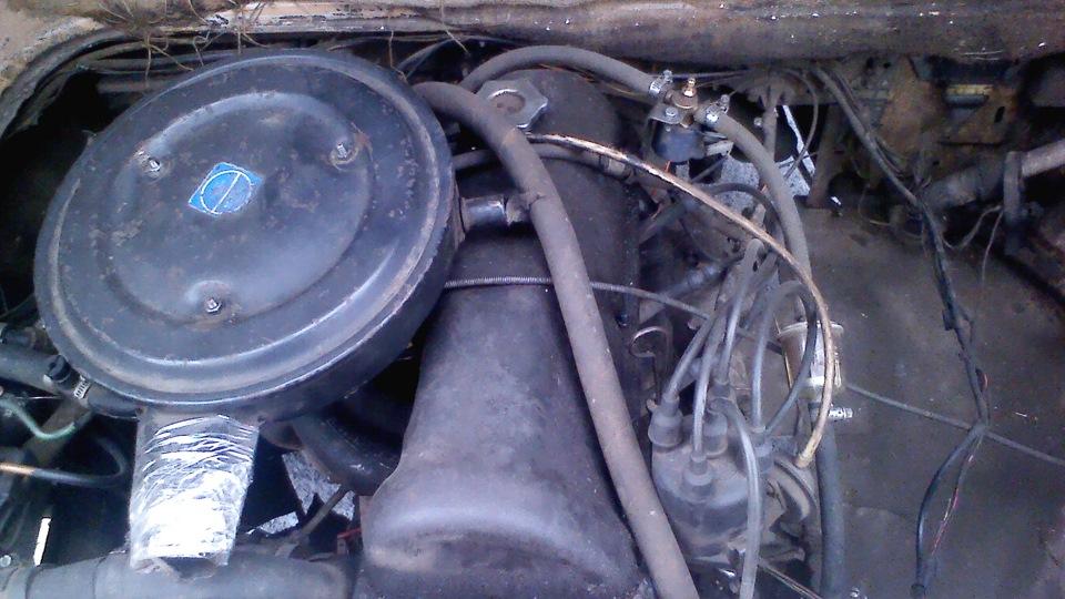 двигатель от ваз на фольксваген транспортер