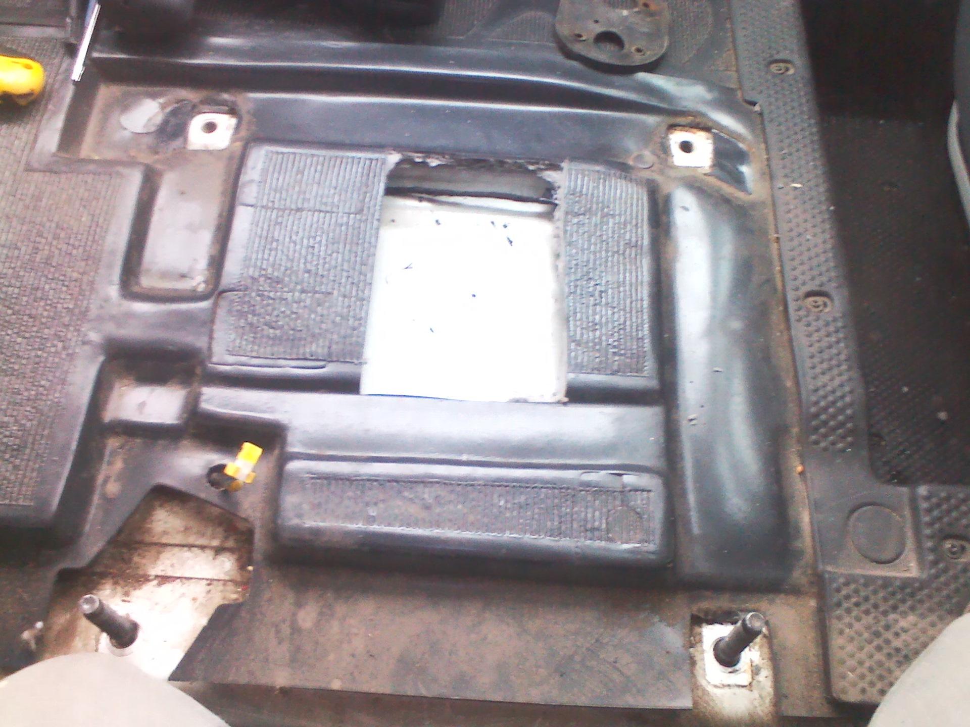 сухой фен установка на фиат дукато