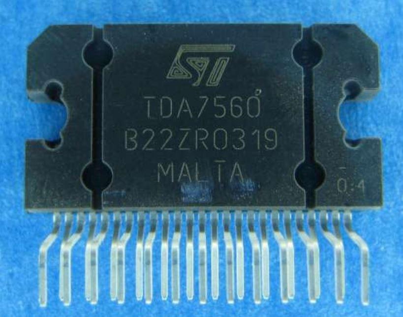Микросхема TDA 7560