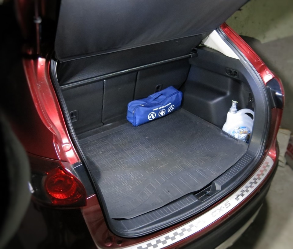 мазда сх 5 багажник фото