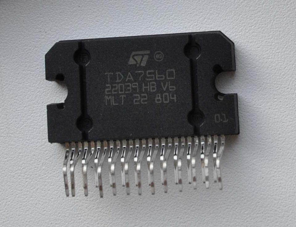 Вчера купил микросхему TDA7560