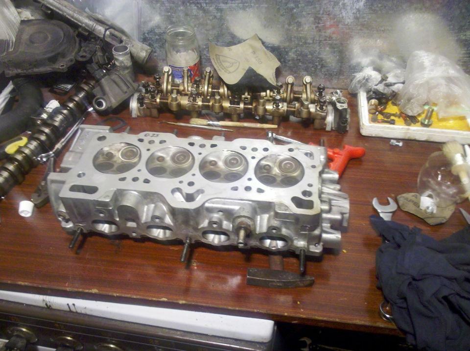 Двигатель g4eb ремонт гбц своими руками
