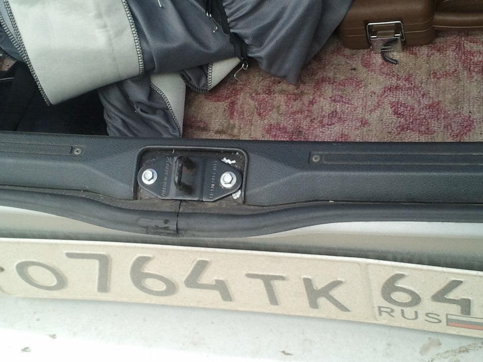 Как открыть багажник без ключа ваз 2114