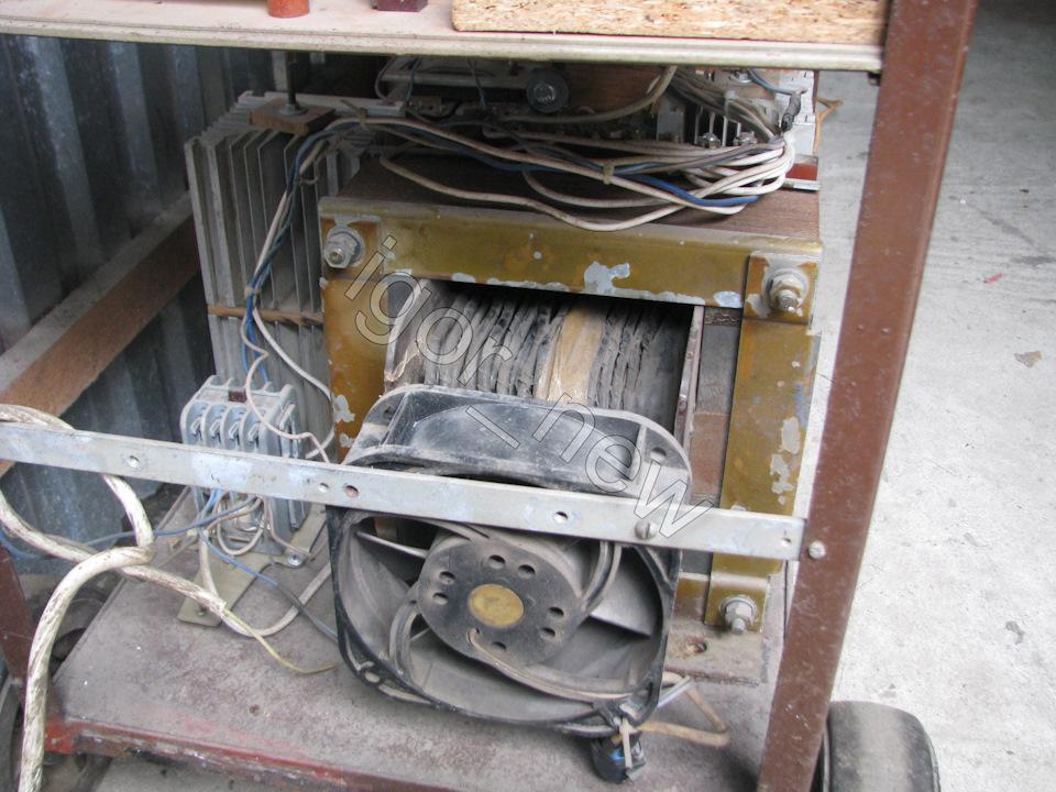 Сварочный полуавтомат от саныча своими руками
