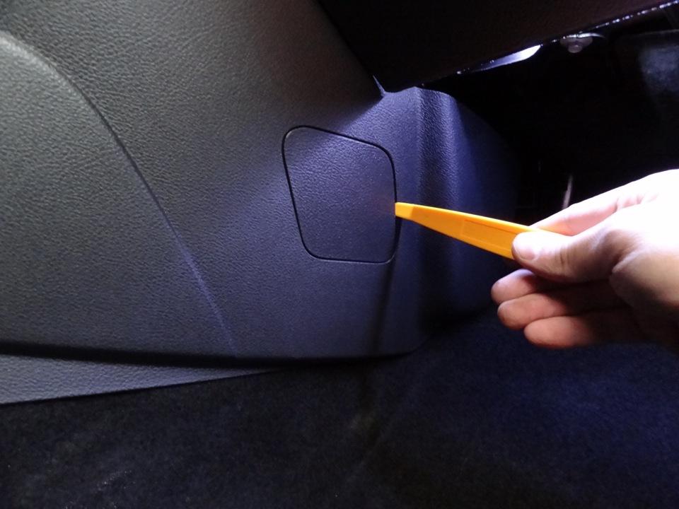 Форд фокус 3 где находится салонный фильтр