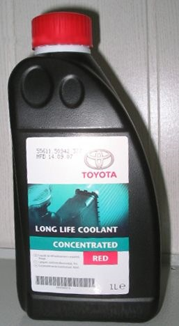 toyota long life coolant выпали хлопья