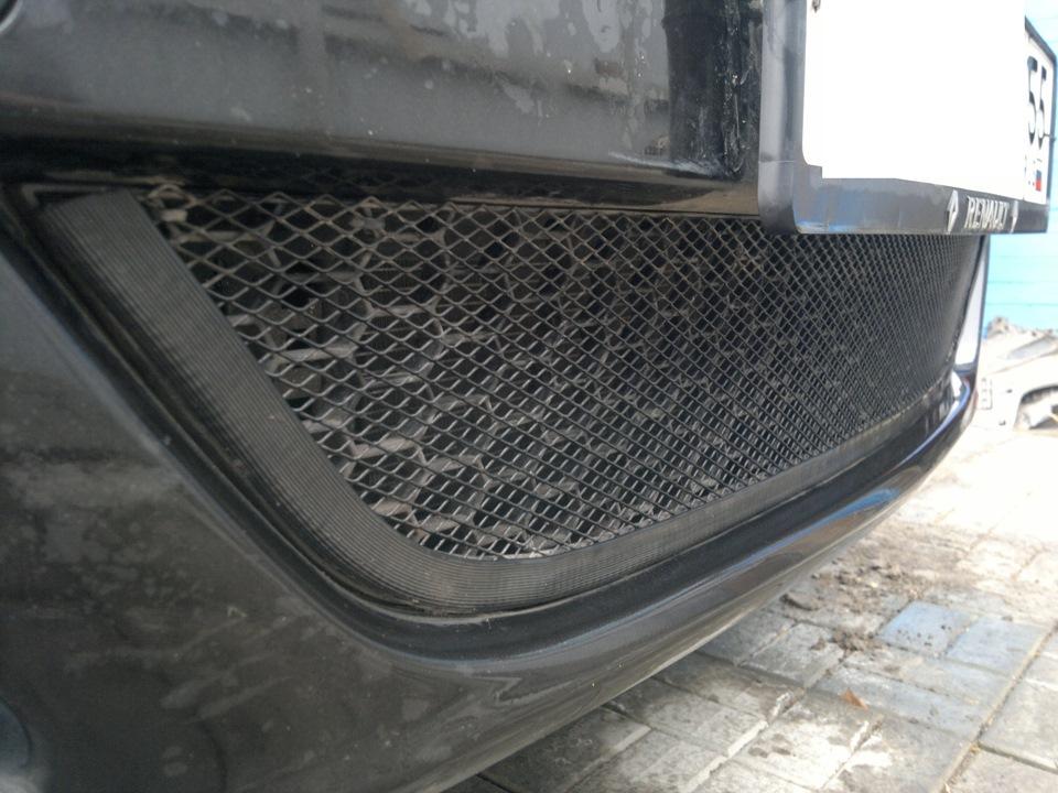 Сетка на решетку радиатора логан