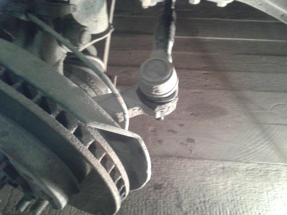 Замена рулевых наконечников на тойота