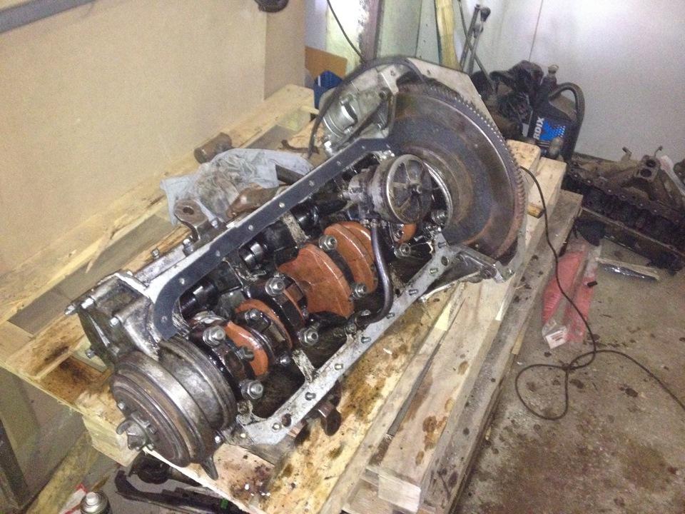 Сборка двигателя умз 417