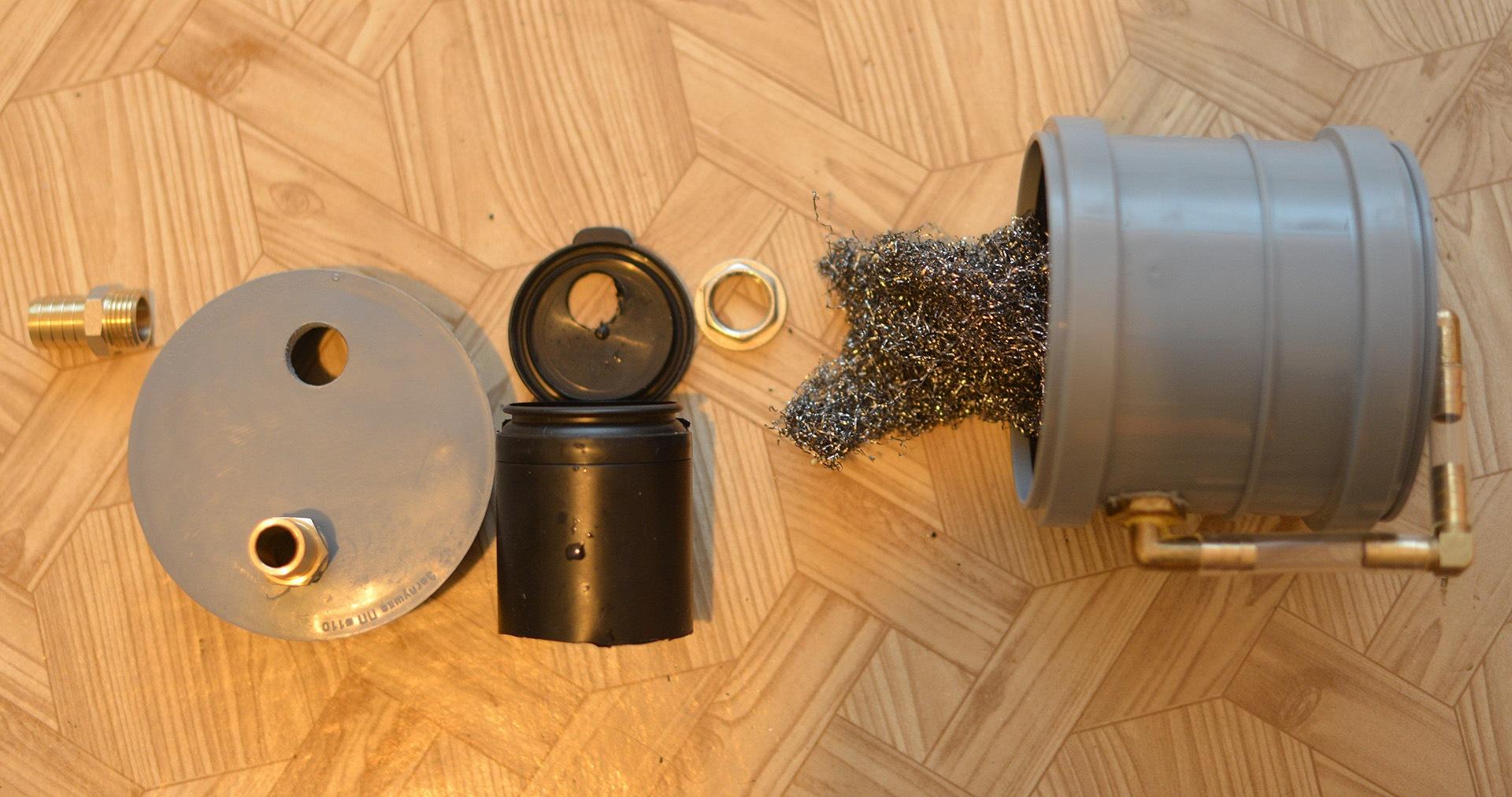 Как сделать фильтр картерных газов