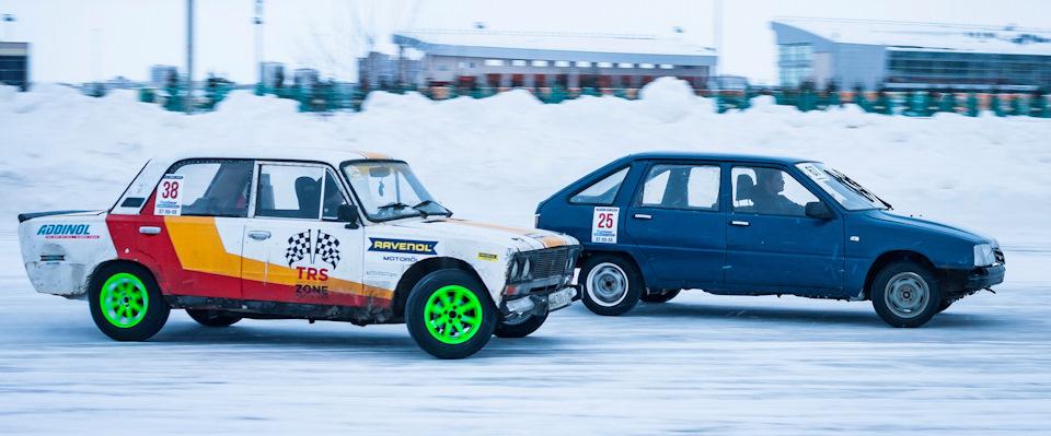 Жигули и ИЖи зимой вне конкуренции!