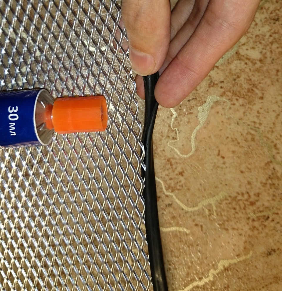 Сетка защиты радиатора своими руками 934