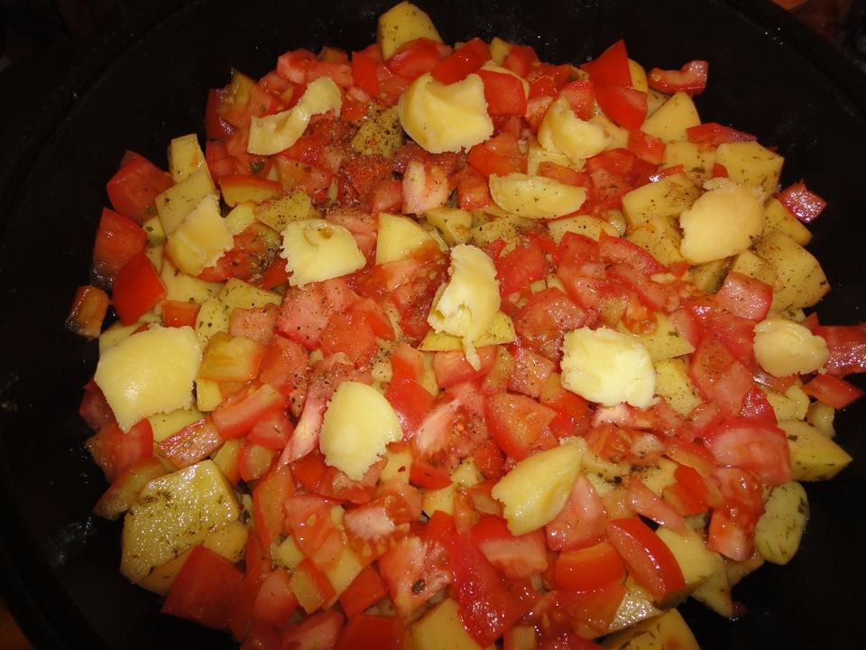 Как сделать жаркое в казане с овощами