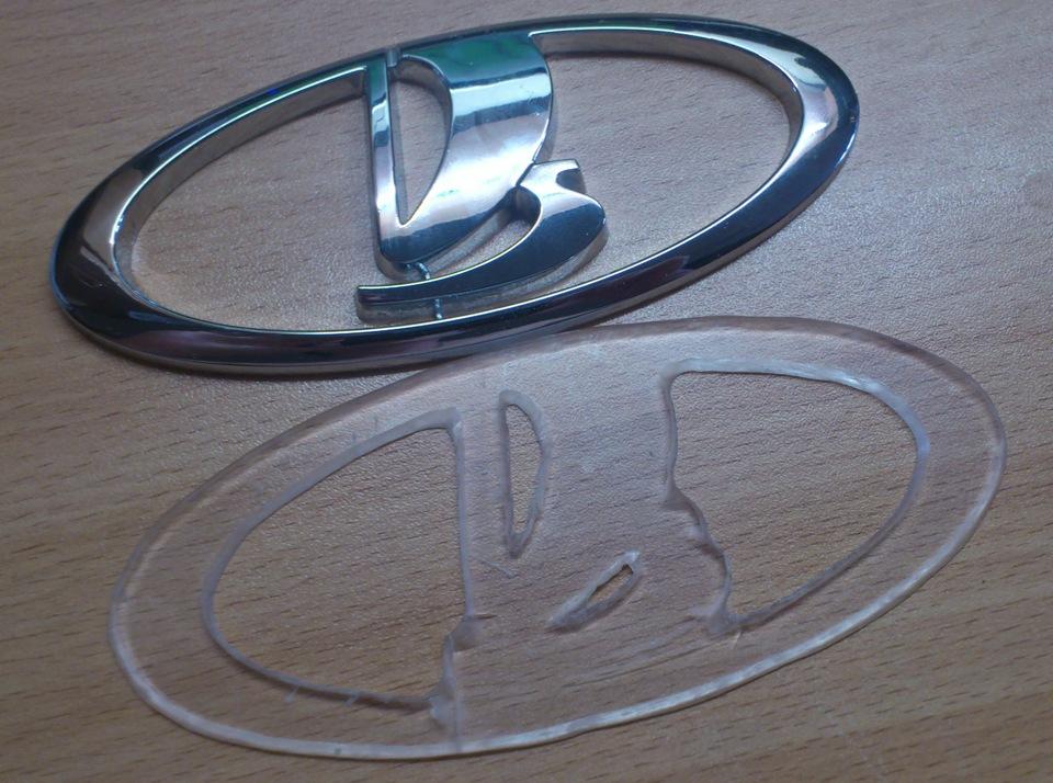 Логотипы на авто своими руками