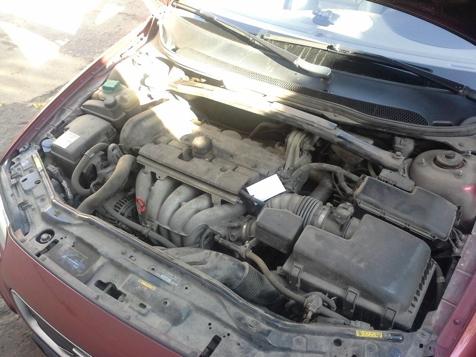 как помыть двигатель автомобиля вольво s 60