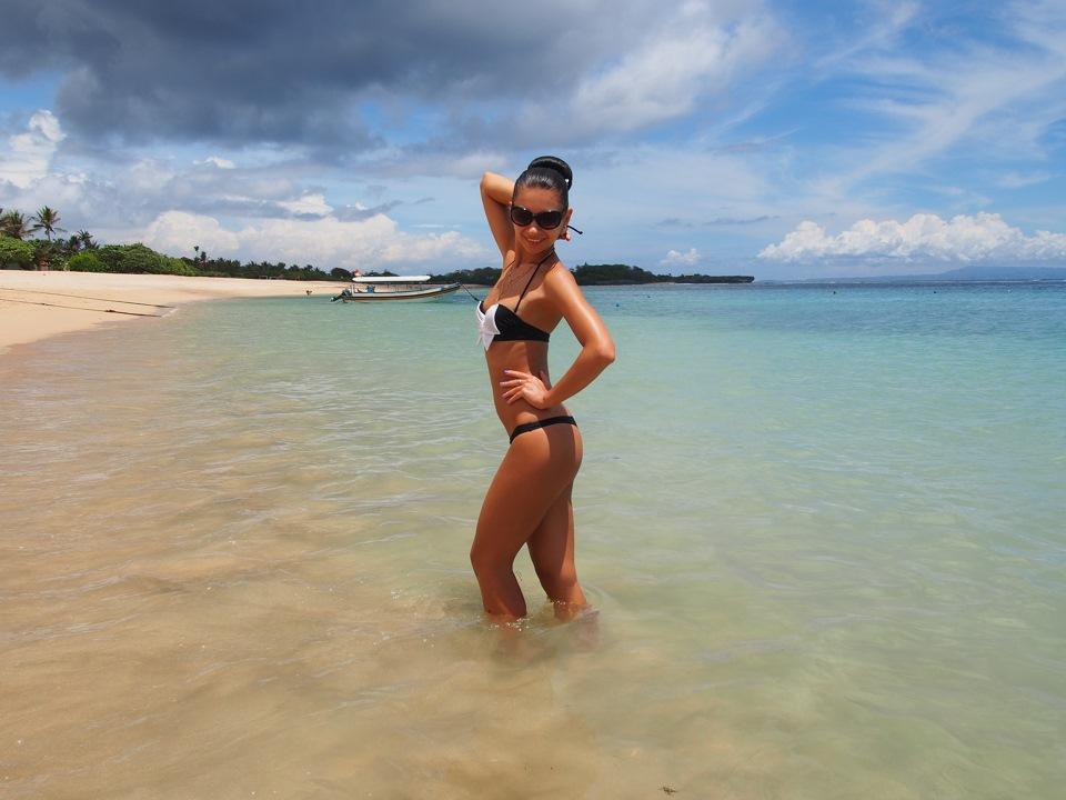 пляж фото жены
