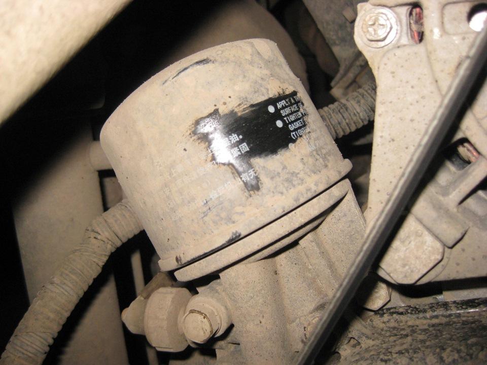 Замена масла в двигателе ховер своими руками