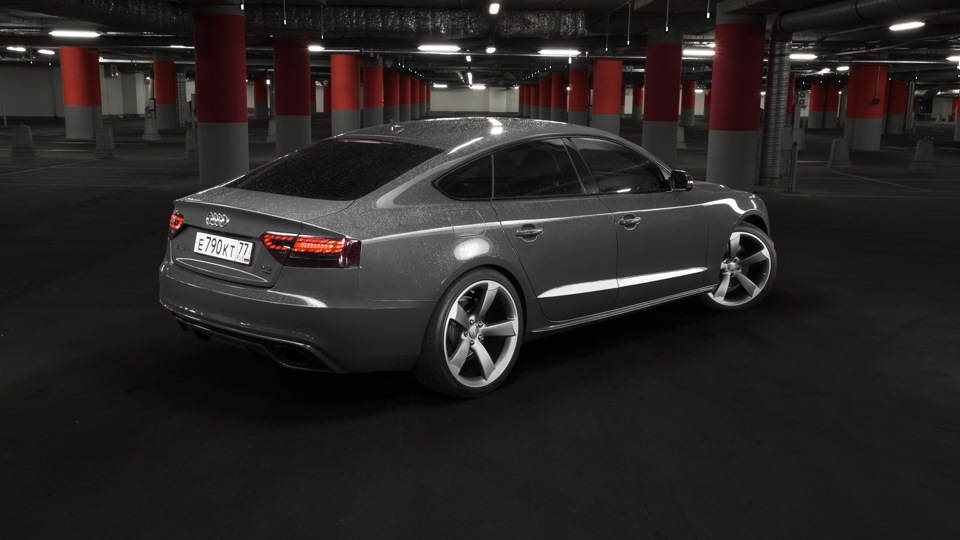 audi a5 sportback 2 0 t rieger rs look drive2. Black Bedroom Furniture Sets. Home Design Ideas
