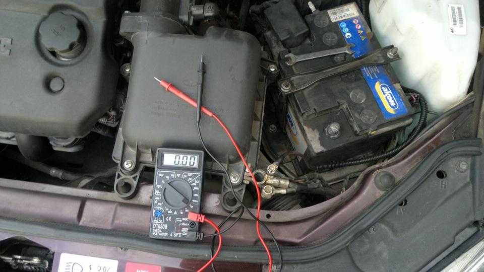 Фото №8 - утечка тока в автомобиле ВАЗ 2110