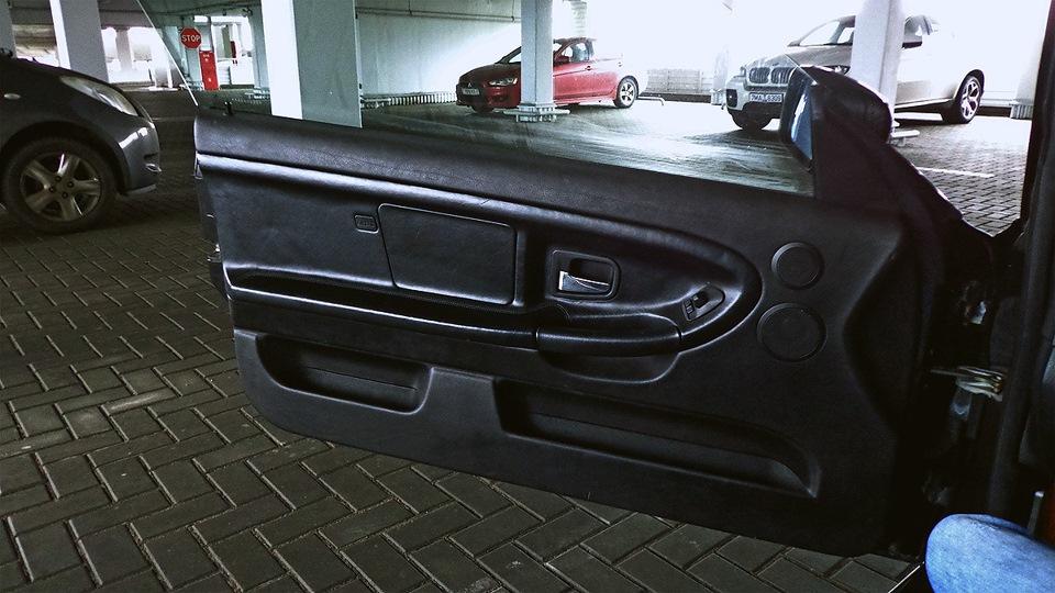 как снять обшивку двери BMW e46 coupe