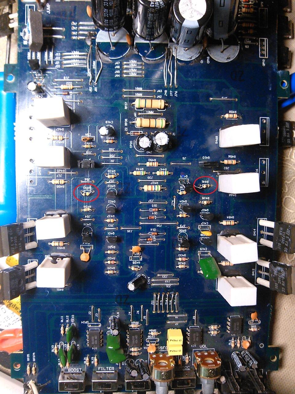 Почему усилители греются резисторы