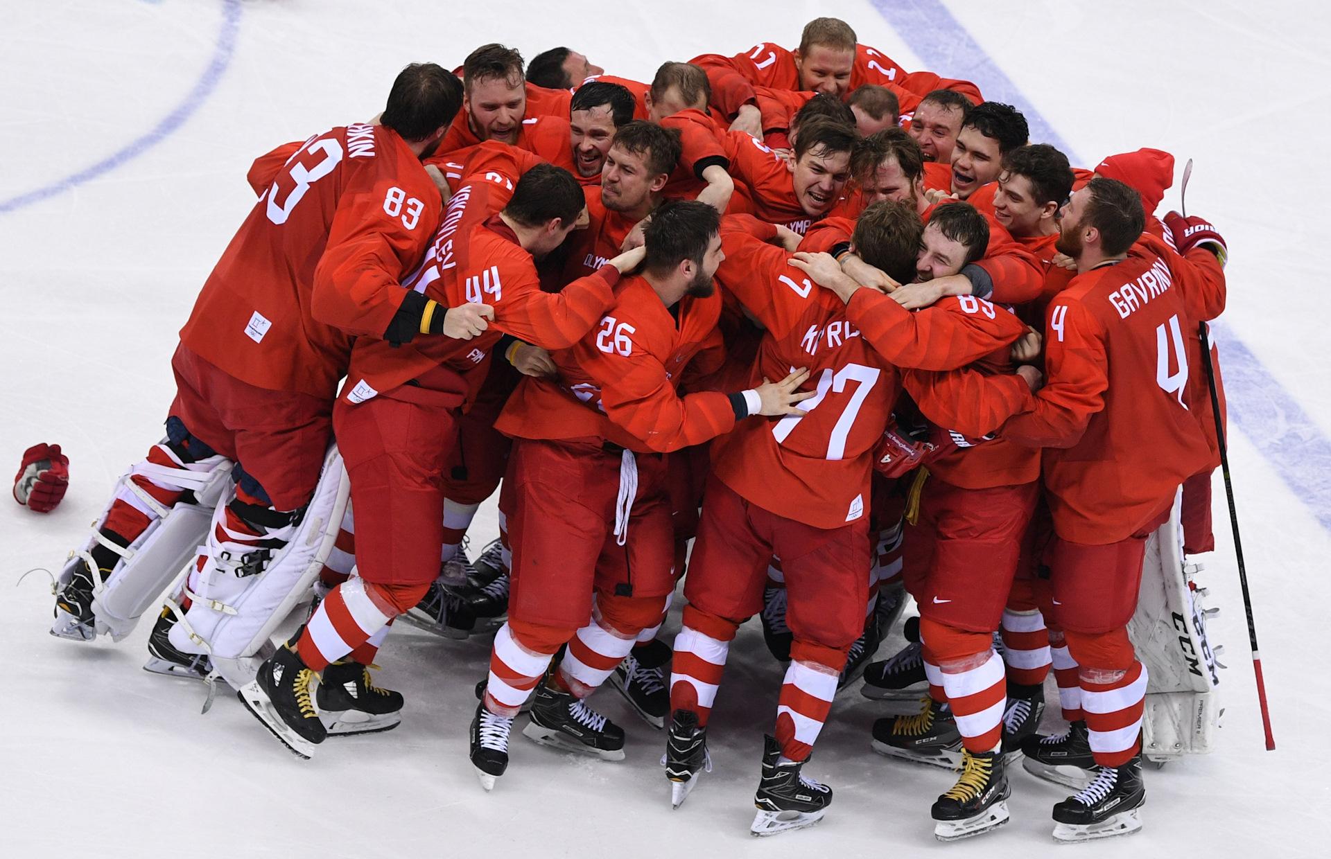 пройти русские чемпионы хоккея фотострана предлагает сытные