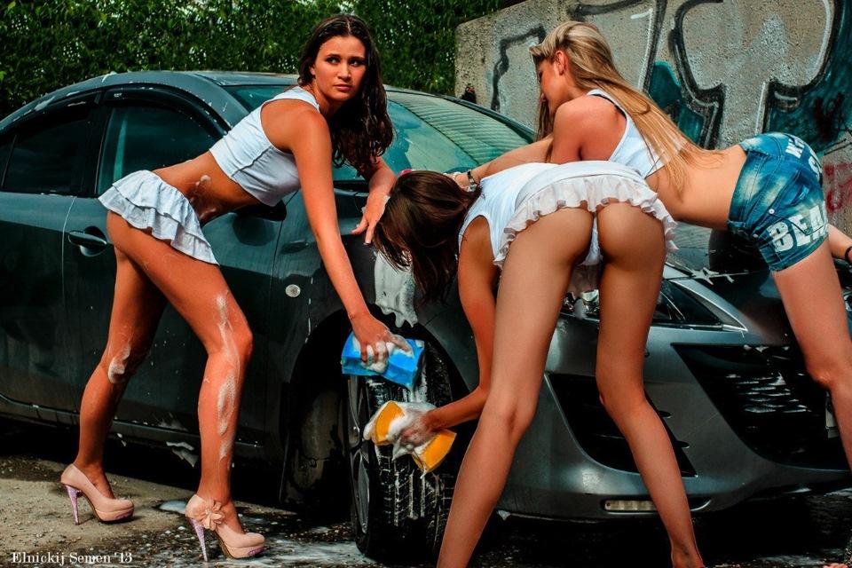 Стриптиз автомойка в москве