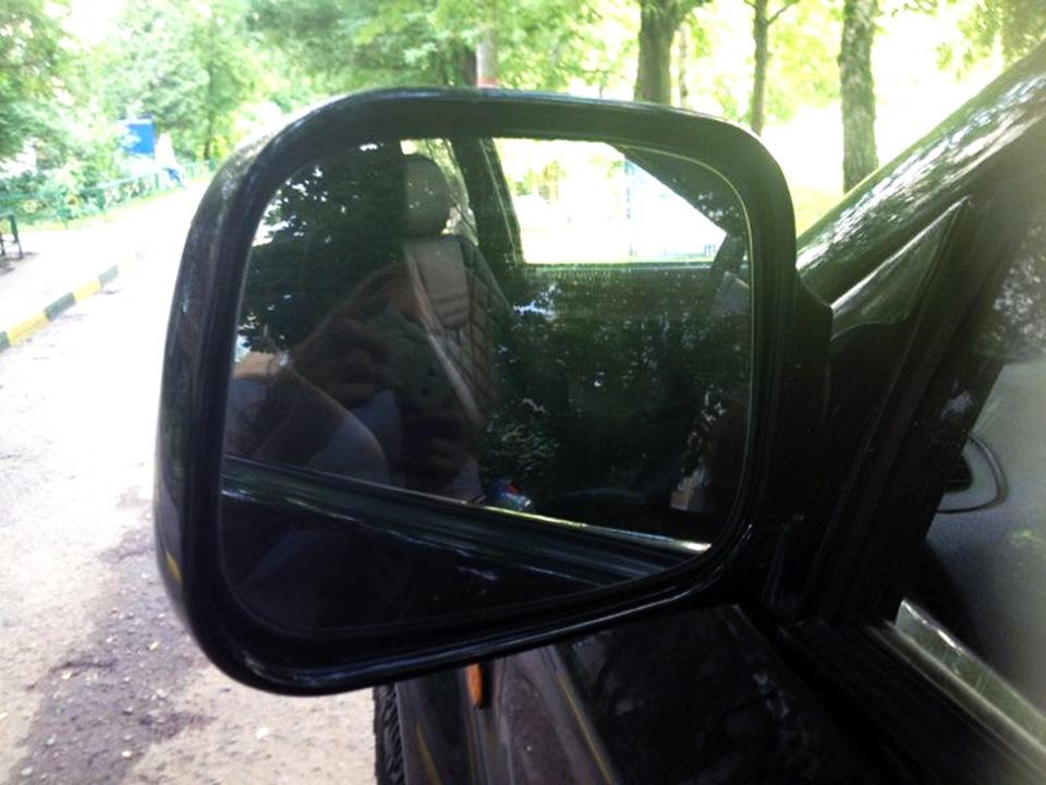 Изготовление зеркального элемента на авто