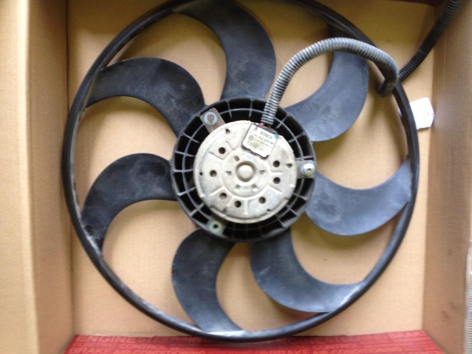 замена вентилятора фольксваген транспортер