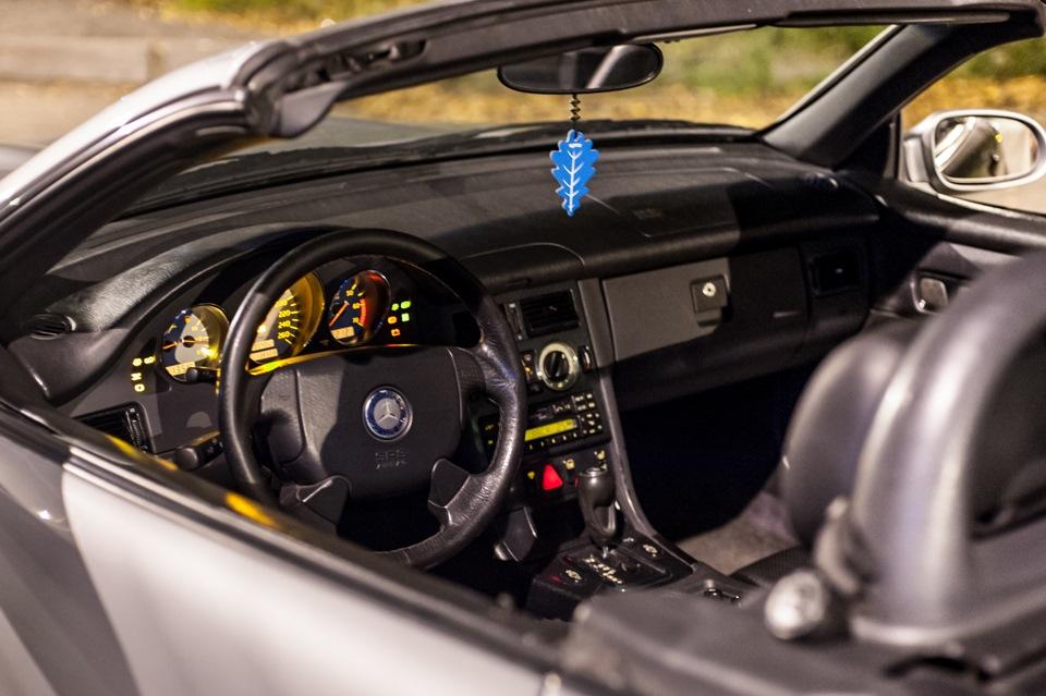 Mersedes-Benz SLK R170 на stance