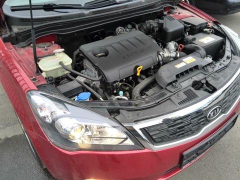 какой моторесурс двигателя киа сид