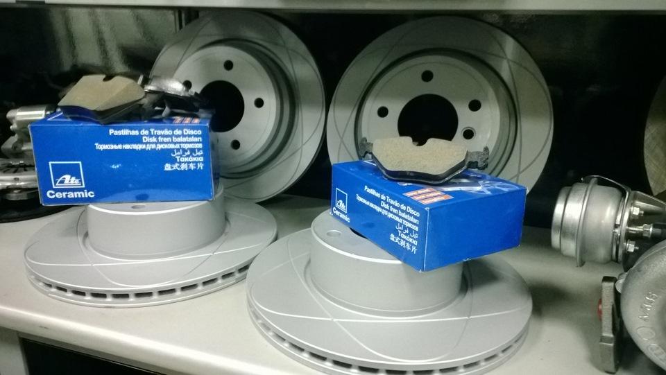 bmw e39 диски ate