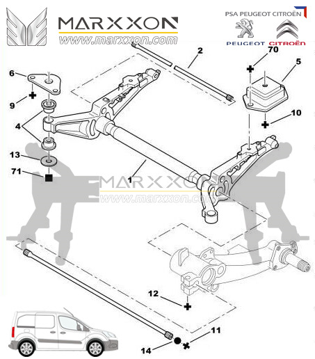 Populære Marxxon Machinery is the manufacturer of the Peugeot & Citroen NK-42