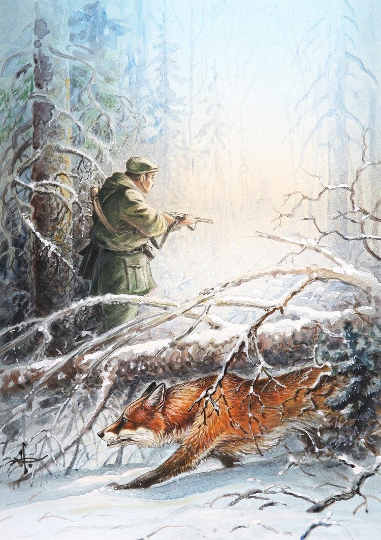 Картинки об охоте и рыбалке, метал картинки