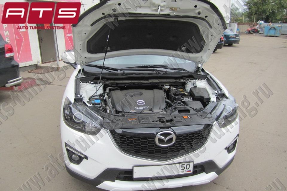 Упор капота Mazda CX-5