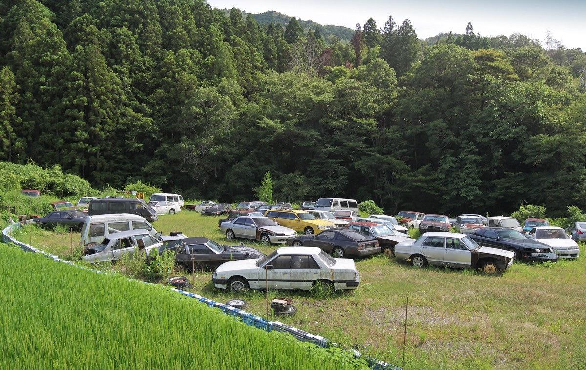 нёе автосвалки японии фото серия рассказывает весёлых