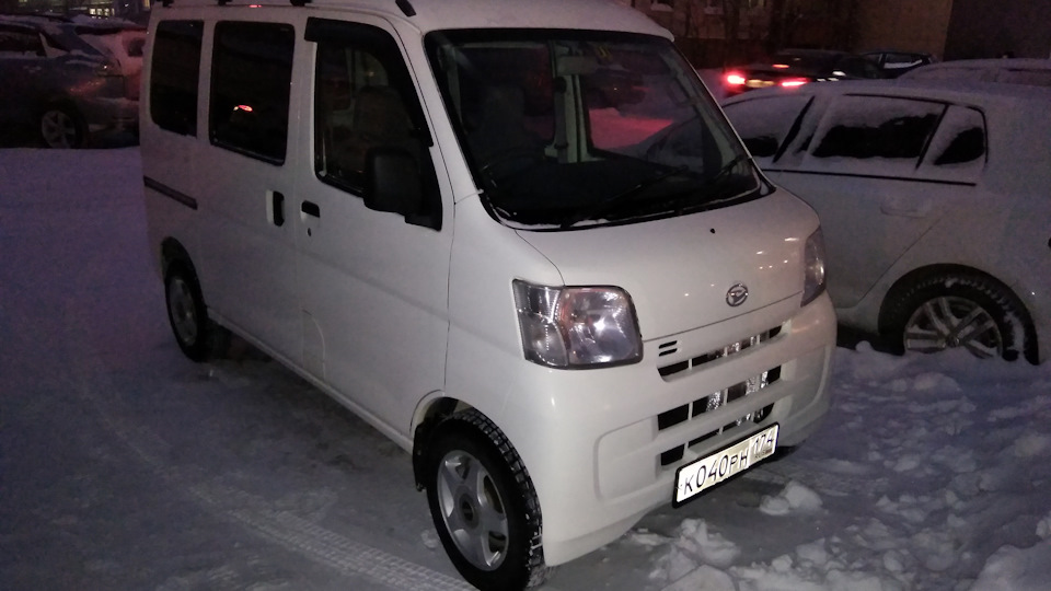 Daihatsu hijet (s200, s210) 659куб см, 43лс 4wd