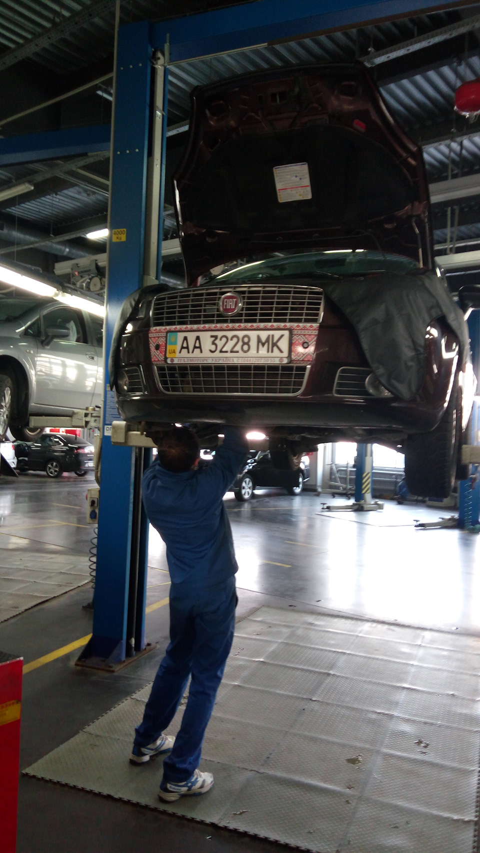 Changed Timing Belt And Tensioner Logbook Fiat Linea 2012 On Drive2 5th Winter Season Almost Finished First Time After 97240km 45 Years At