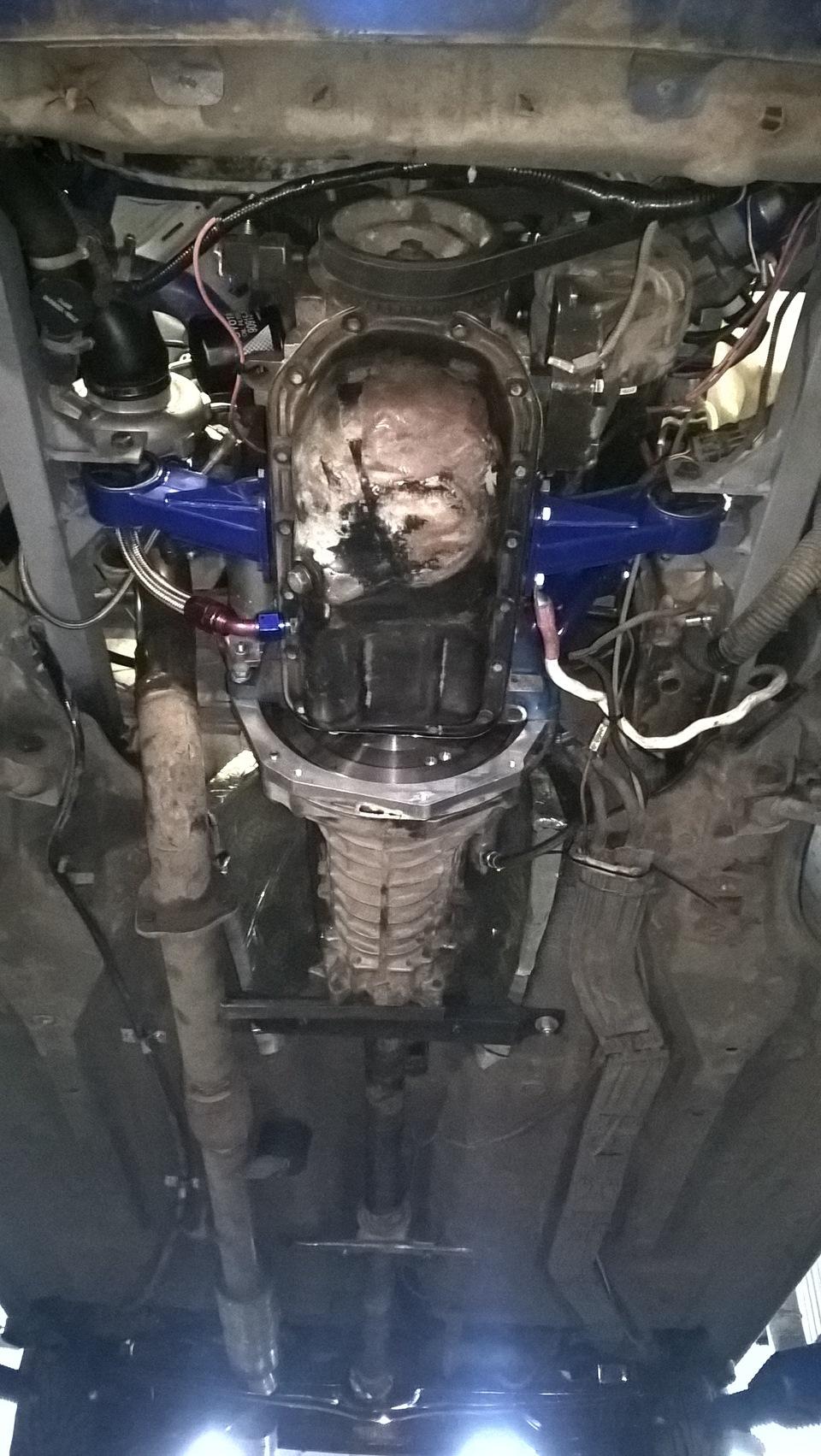 Как самостоятельно установить турбину на двигатель