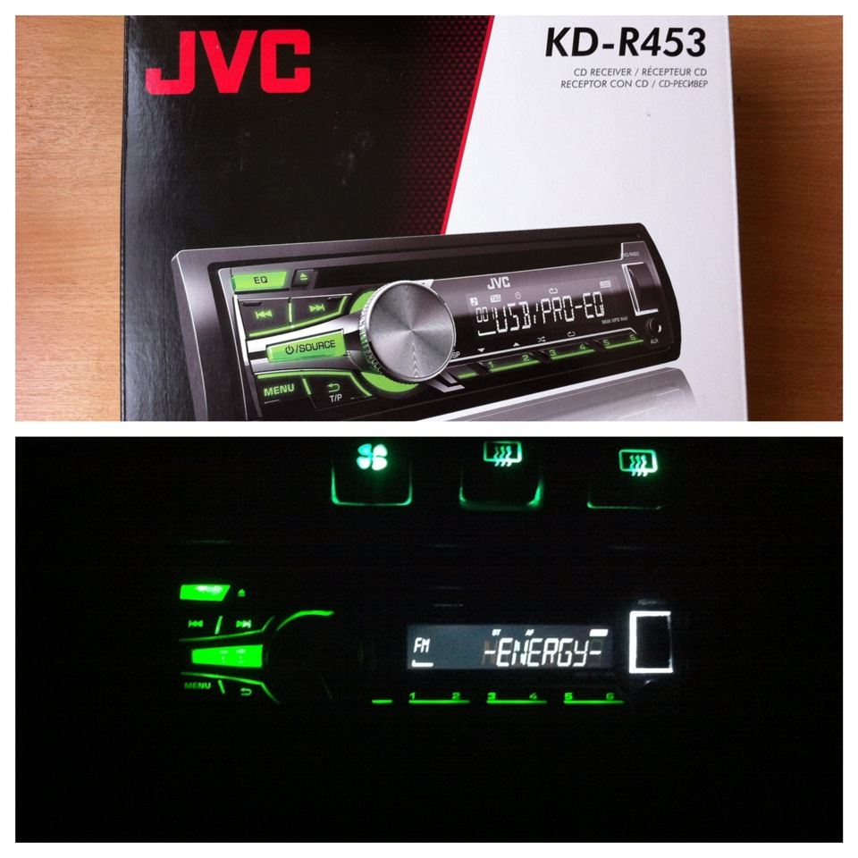 JVC KD-R453 Receiver Drivers for Windows Download